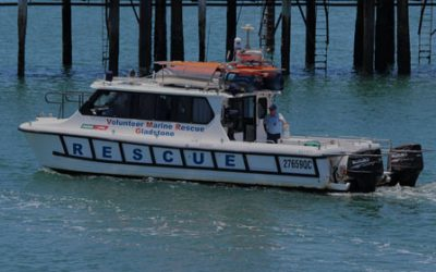 New inflatable rescue boat thanks to Aurizon Community Giving Fund