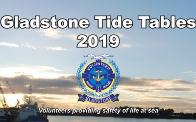 2019 Tide Tables for Gladstone